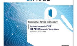 Actis KH-704CR tusz trójkolorowy do drukarki HP (zamiennik HP 704 CN693AE) Standard