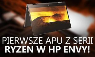 HP Envy x360 15-bq101na Pierwszym Laptopem z APU AMD Ryzen 5 2500U!