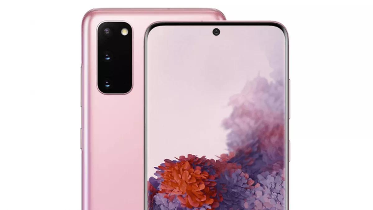 Galaxy S20 pojawi się także w kolorze różowym (Źródło: Winfuture)