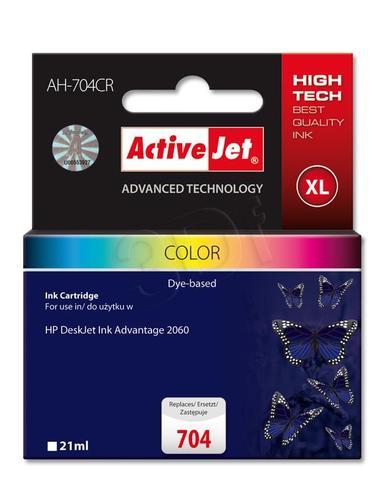 ActiveJet AH-704CR tusz trójkolorowy do drukarki HP (zamiennik HP 704 CN693AE) Premium
