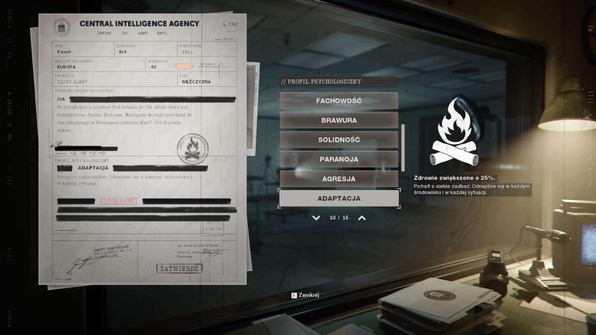 Call of Duty: Black Ops - Cold War - Tworzenie własnej postaci