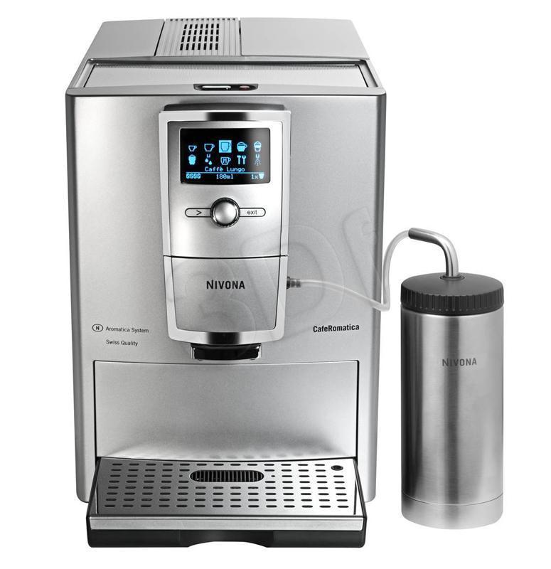 NIVONA 855 Cafe Romatica (srebrny)