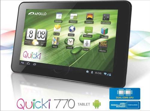 """Apollo QUICKI 770 A9 1GB 7"""" 4GB Wi-Fi And 4.1"""