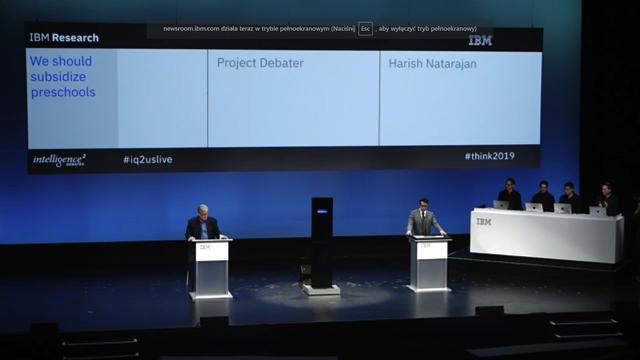 IBM Miss Debater przegrała to starcie