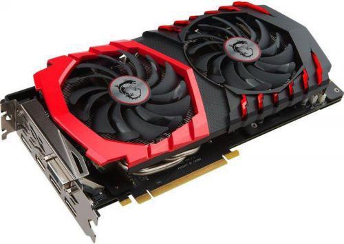 MSI GeForce GTX 1060 Gaming 6GB GDDR5 (192 Bit) HDMI, 3xDP, DVI, BOX (GTX 1060 Gaming 6G)