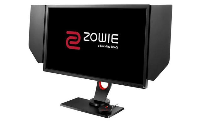 ZOWIE XL2740 posiada regulowaną osłonę ekranu.