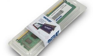 Patriot DDR3 2GB Signature 1600MHz CL11 256x8 1 rank