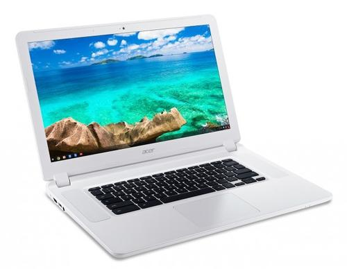"Acer Chromebook CB5-571-38NV 15.6""IPS FHD/i3-5005U/IntelHD/4GB/32GB/802.11ac+BT/HDMI/USB3.0/SD reader/Cam/Chrome OS/white"
