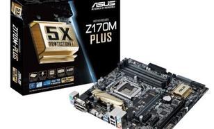 Asus Z170M-PLUS s1151 Z170 4DDR4 RAID/USB3.0/GLAN uATX