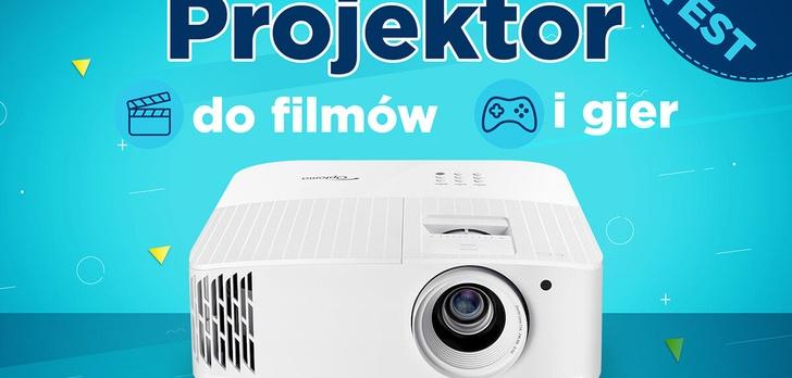 Optoma UHD35 - Projektor do filmów i gier (RECENZJA)