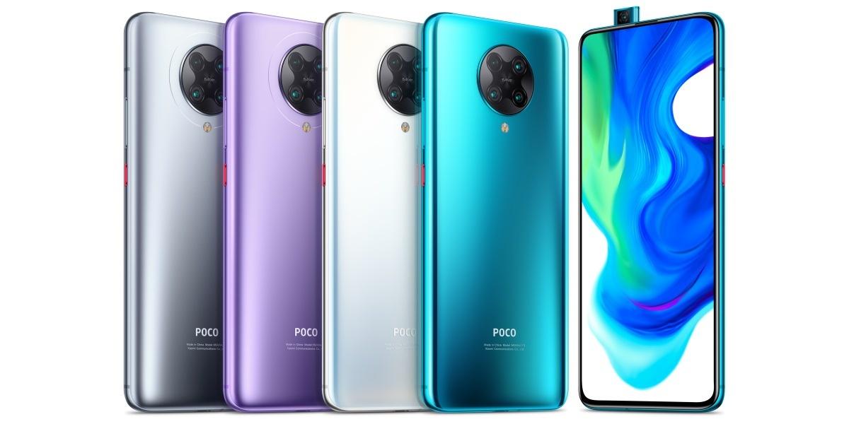 POCO F2 Pro pojawi się w kilku kolorach