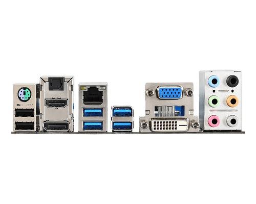 MSI H97M-G43 s1150 H97 4DDR3 RAID/GLAN/USB3 uATX