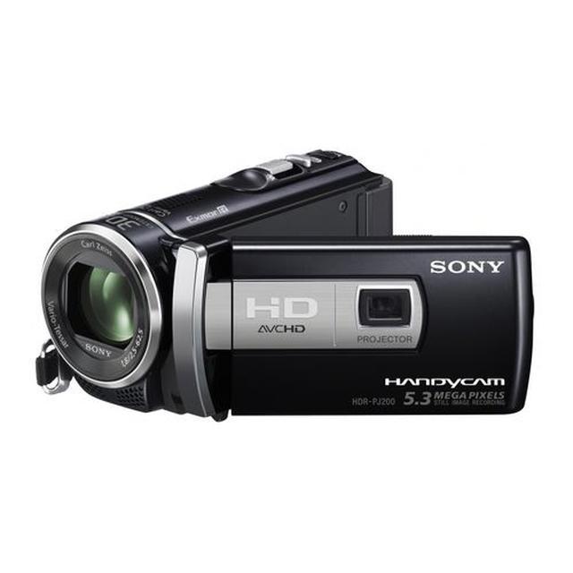 Sony HDR-PJ200E - lekka kamera cyfrowa wysokiej klasy