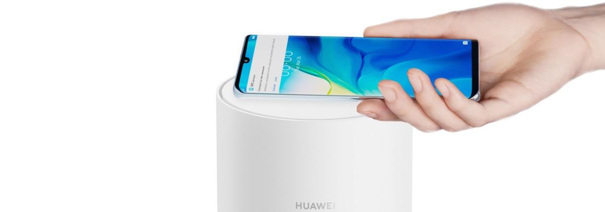 Huawei Mesh Wi-Fi łączy się szybko ze smartfonami