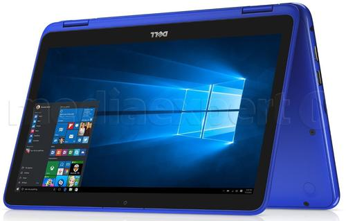 """Dell Inspiron ( Core m3-7Y30 ; 11,6"""" ; Dotykowy ekran TN ; 4GB DDR3"""