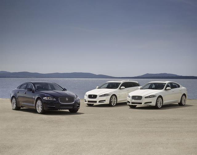 Jaguary na rok modelowy 2013 bardziej wydajne i ekonomiczne