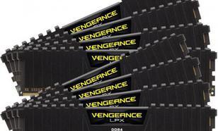 Corsair Vengeance LPX DDR4, 128GB(8x16GB), 2133MHz, CL13 (CMK128GX4M8A2133C13)