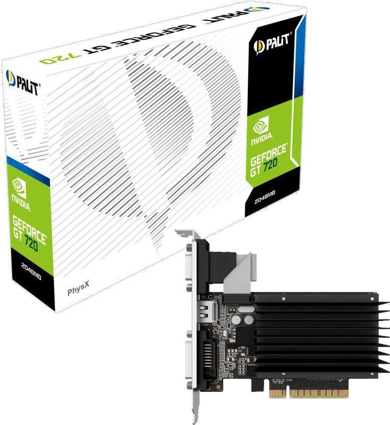 Palit GeForce GT 710 2GB DDR3 (64 bit) DVI, HDMI, D-Sub, BOX