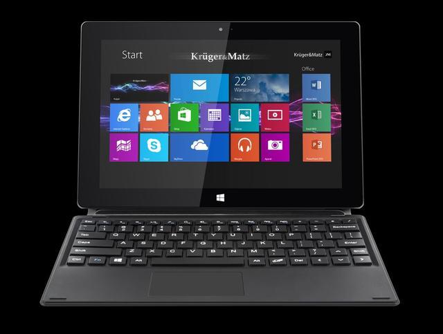 Kruger&Matz KM1080 - elegancki tablet z systemem Windows 8.1