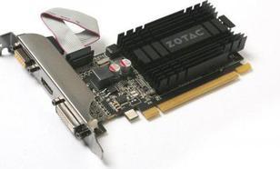 Zotac GeForce GT 710 Zone 1GB DDR3 (64 bit) DVI, HDMI, VGA (ZT-71301-20L)