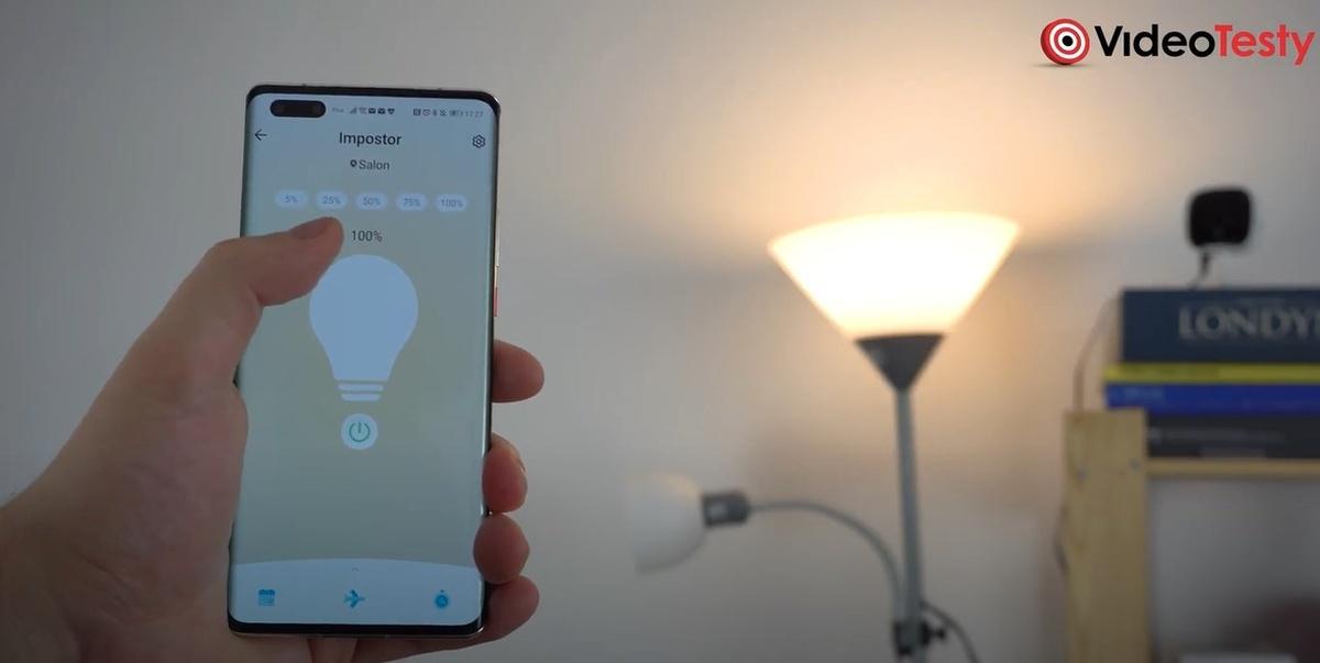 TP-Link Tapo działa wespół z aplikacją mobilną