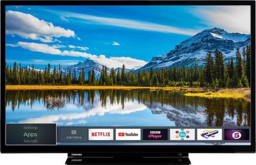 "Toshiba 28"" LED 28W2863DG (1366x768; 50Hz; SmartTV; DVB-C, DVB-S2,"