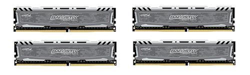 Crucial DDR4 Ballistix Sport LT 16GB/2400(4*4GB) CL16 SRx8