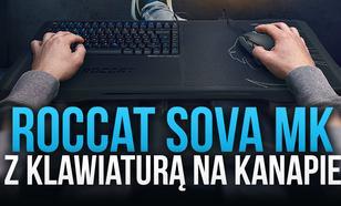 Roccat Sova MK - Z Klawiaturą na Kanapie