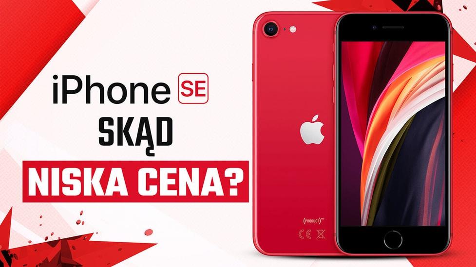 Ile kosztuje iPhone SE (2020), dlaczego tak mało i czy warto go kupić?