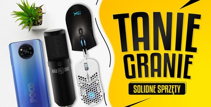 Urządź tani gaming! Myszki i mikrofony na dobrych przecenach!