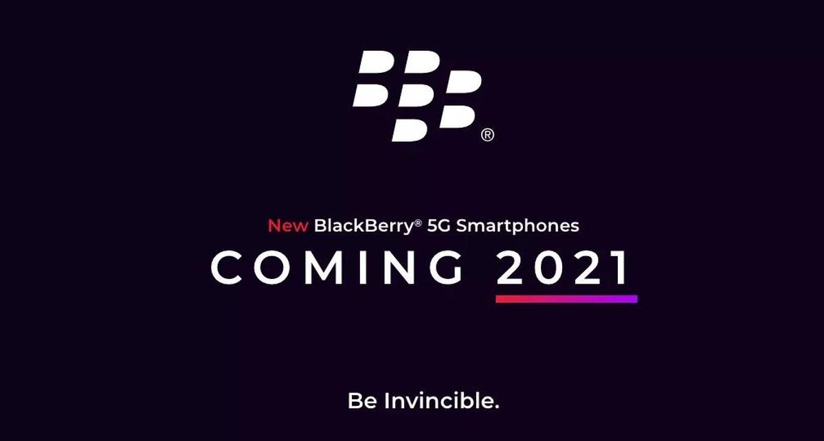 BlackBerry powróci w 2021 roku