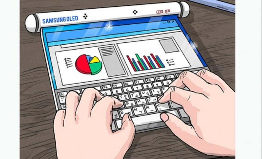 Rozwijany tablet Samsunga byc może zobaczymy w sklepach w przeciągu najbliższych lat