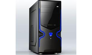 Gembird Midi Tower ATX USB 3.0 black/blue CCC-GJ-09-B