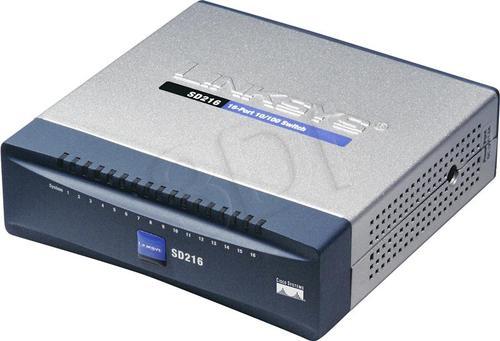 LINKSYS (SD216-EU) Switch 16x10/100Mbps Desktop