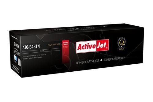 ActiveJet ATO-B431N czarny toner do drukarki laserowej OKI (zamiennik 44574902) Supreme
