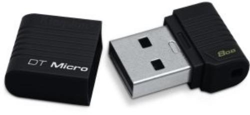 Kingston Data Traveler Micro 8GB USB2.0 Black