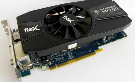 Sapphire Radeon HD7770 Flex [TEST]