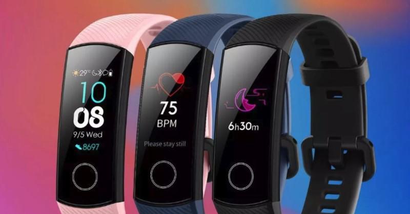 Honor Band 4 monitoruje też twój puls