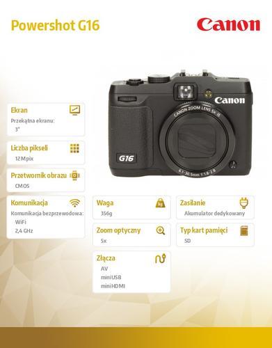 Canon Powershot G16 EU18 8406B011AA
