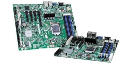 Intel Płyta S1200BTLR BOX C204/4xDDR3/RAID/2xLAN/GFX/mng (opcja)