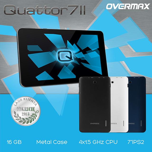 Oto najnowszy tablet Quattor 7 II