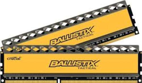 Crucial DDR3 Ballistix Tactical 8GB/1866 (2*4GB) CL9-9-9-27