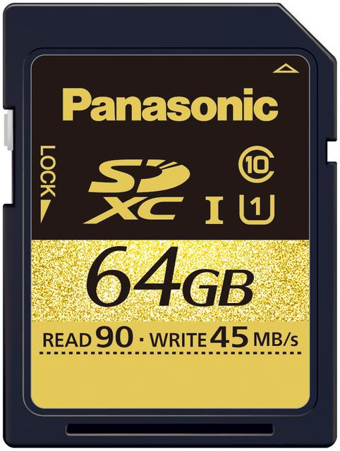 Panasonic wprowadza nowe karty pamięci Ultra High Speed (UHS)