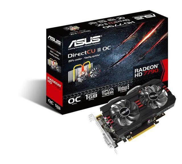 Asus Radeon HD 7790 DirectCU II OC Unboxing