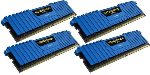 Corsair DDR4 Vengeance LPX 32GB /2666 (4*8GB) BLUE CL16-18-18-35
