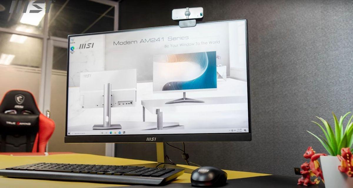 Design komputera MSI Modern AM241