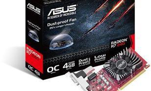 Asus Radeon R7 240 4GB GDDR5 (128 bit) HDMI, DVI, D-Sub (90YV0BG0-M0NA00)