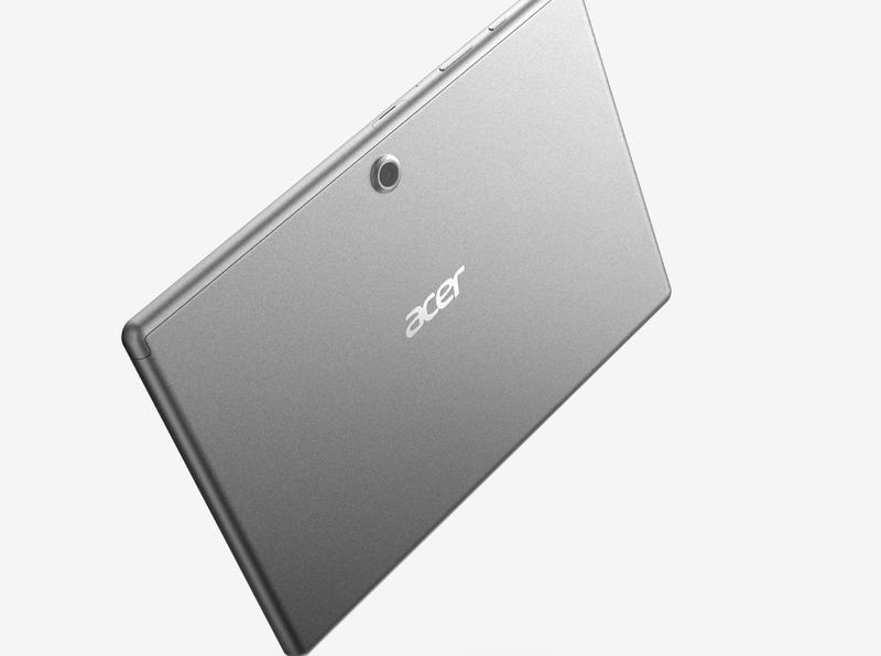 Acer Iconia ma z tylu odstajacy aparat