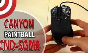 Canyon Paintball CND-SGM8 - Recenzja Myszki