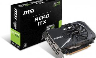 MSI GeForce GTX 1060 AERO ITX 6GB GDDR5 (192 Bit) DVI-D, 2xHDMI, 2xDP, BOX